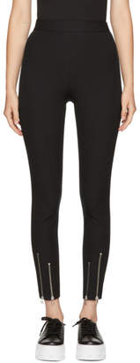 Alexander Wang Black Ankle Zip Leggings