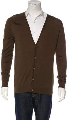 Balenciaga Wool Silk Cardigan
