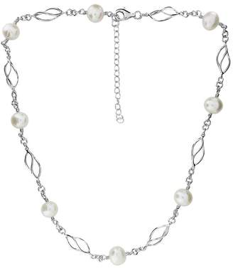 House of Fraser Azendi Silver & Freshwater Pearl Necklace