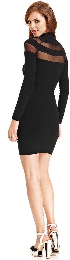 GUESS by Marciano Arielle Chiffon Sweater Dress