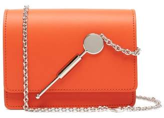 Sophie Hulme Cocktail Mini Leather Cross Body Bag - Womens - Orange