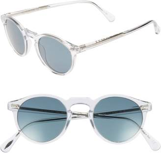 06cd524c16cdb Oliver Peoples Gregory Peck 47mm Round Sunglasses