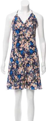 Rebecca Taylor Floral Print Mini Dress w/ Tags