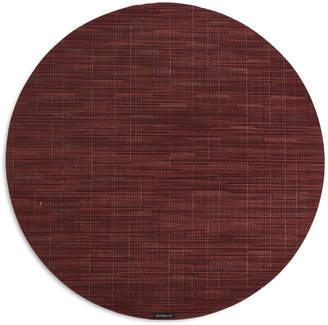 Chilewich Cranberry Bamboo Round Placemat