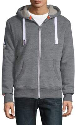 Superdry Faux Fur Zip-Up Hoodie