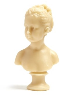 Cire Trudon Louise Bust Decorative Candle - Womens - Grey