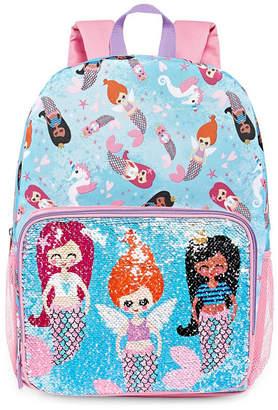 Confetti Flip Sequin Mermaid Pocket Backpack