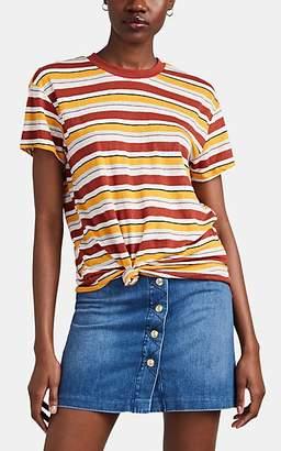 Frame Women's Multi-Striped Linen T-Shirt