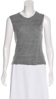 Isabel Marant Sleeveless Scoop Neck Top