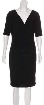 Lauren Ralph Lauren Ruched Knee-Length Dress