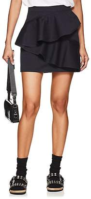 Etoile Isabel Marant Women's Doali Ruffled Cotton Miniskirt
