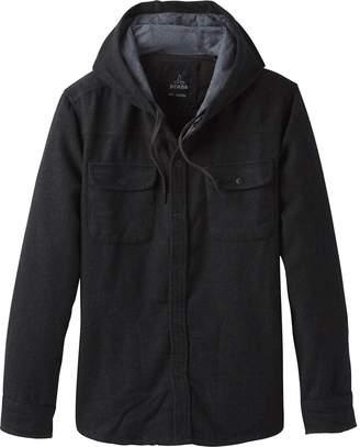 Prana Bolster Hooded Flannel Jacket - Men's
