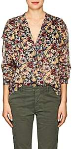 Masscob Women's Kylie Floral Cotton Blouse