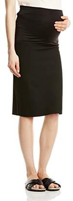 Queen Mum Women's City Plain Maternity Skirt,14 (Manufacturer Size:40)