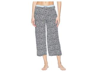 Jockey Cropped Pants Women's Pajama