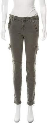 J Brand Skinny-Leg Mid-Rise Pants