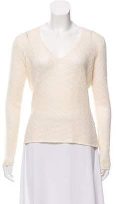 Loro Piana Open-Knit Cashmere Sweater