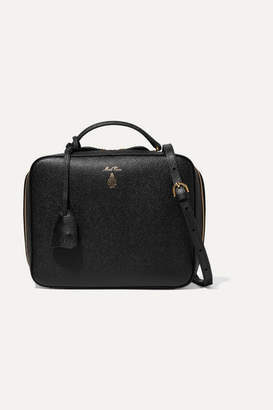 Mark Cross Laura Textured-leather Shoulder Bag