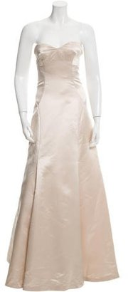 Vera Wang Strapless Satin Gown $340 thestylecure.com