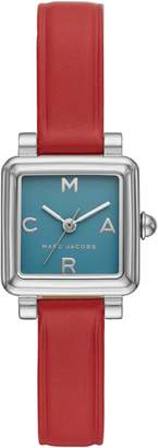 Marc Jacobs Vic Leather Strap Watch, 20mm