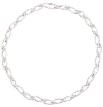 Nadri Laurel Crystal Collar Necklace