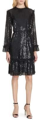 Needle & Thread Gloss Sequin A-Line Dress