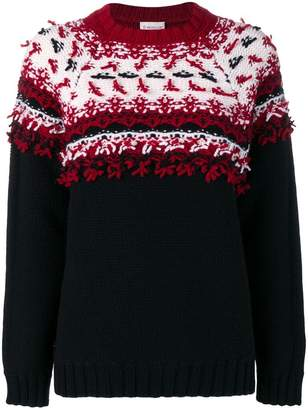 Moncler chunky knit sweater