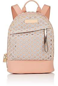 WANT Les Essentiels Women's Piper Mini Leather-Trimmed Backpack-Beige, Tan
