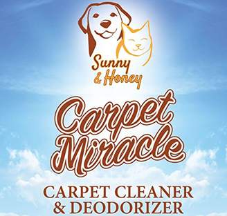 Sunny & Honey Carpet Miracle - Carpet Cleaner and Deodorizer Solution (1 Gallon)