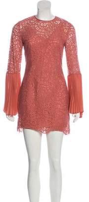 Keepsake Be The One Long Sleeve Mini Dress