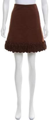 Marni Appliquéd Mini Skirt