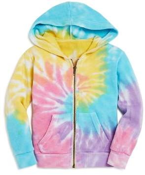 Play Six Girls' Tie-Dyed One Love Hoodie - Little Kid