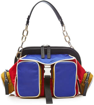 Marni Fabric Tote with Leather