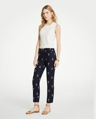 Ann Taylor The Crop Pant In Pineapple - Curvy Fit