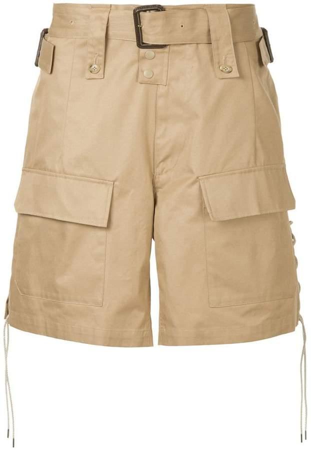 wide cargo shorts