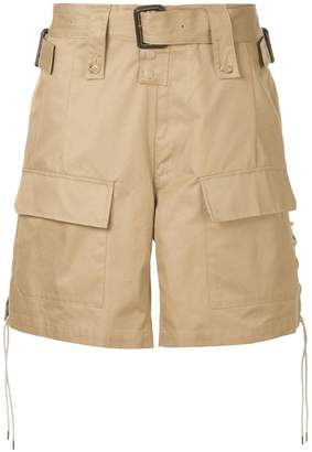 Facetasm wide cargo shorts