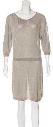 Dries Van Noten Knit Knee-Length Dress