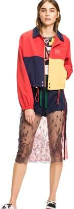 Tommy Hilfiger Cropped Colorblock Jacket