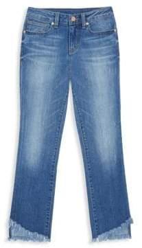 Habitual Girl Girl's Skye Frayed Hem Jeans