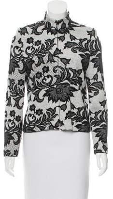St. John Patterned Knit Jacket