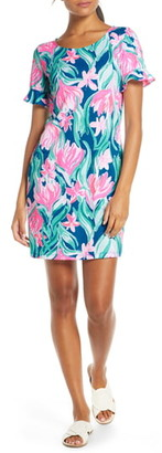 Lilly Pulitzer Mellorie Tie Back Cotton Shift Dress