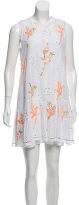 Juliet Dunn Printed Sleeveless Dress