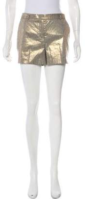 Robert Rodriguez Mid-Rise Metallic Shorts w/ Tags