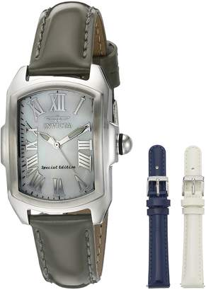 Invicta Women's 20456 Lupah Analog Display Quartz Black Watch