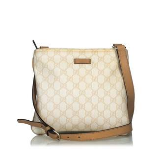 Gucci White Plastic Handbag