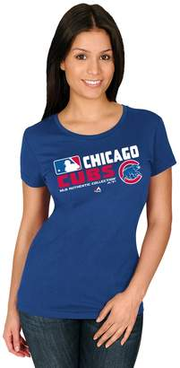 Majestic Women's Chicago Cubs AC Team Choice Tee