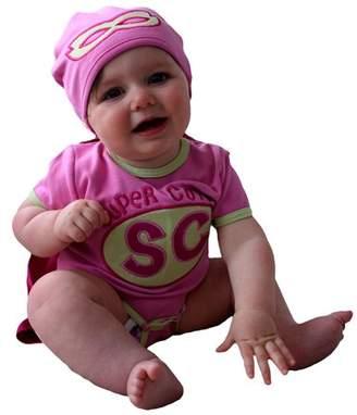 Sozo Super Cute Bodysuit & Hat, 2-piece Set (Baby Girls)