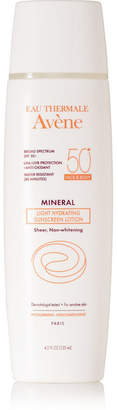 Avene Spf50 Mineral Light Hydrating Sunscreen Lotion, 125ml - Colorless