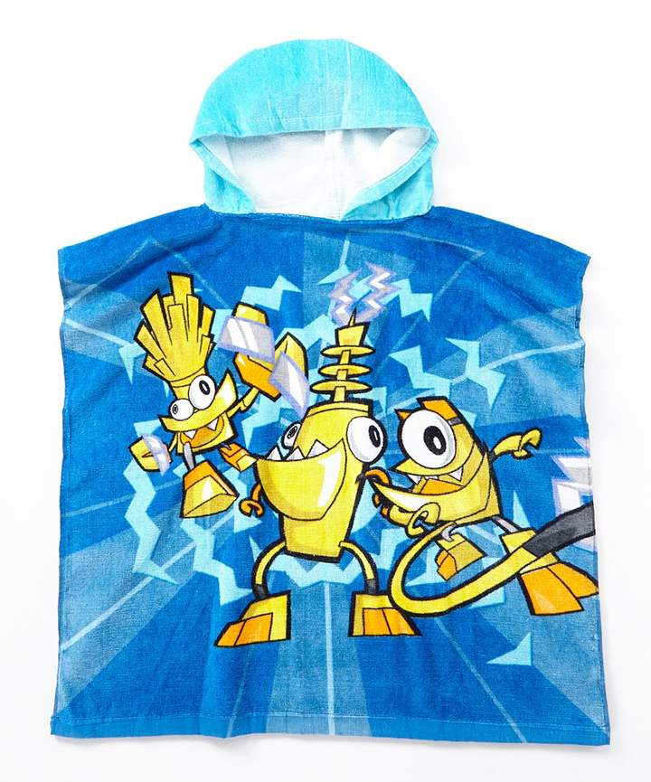 LEGO Mixels Electroid Blue Terry Hooded Poncho - Boys