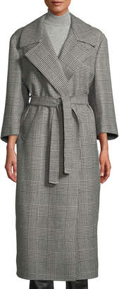 Giuliva Heritage Collection The Linda Houndstooth Check Robe Coat